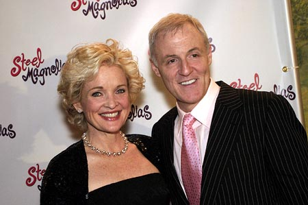 Christine Ebersole, and Bob Harling  at Steel Magnolias Opens on Broadway