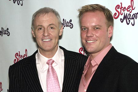 Writer Robert Harling, and Director Jason Moore  at Steel Magnolias Opens on Broadway