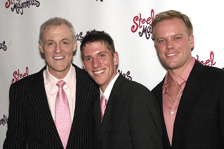 Robert Harling, Robinson Harling, and Jason Moore  at Steel Magnolias Opens on Broadway