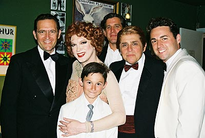 Victor Slezak (Mr. Babcock, Brian O'Bannion), Charles, Tolan Aman