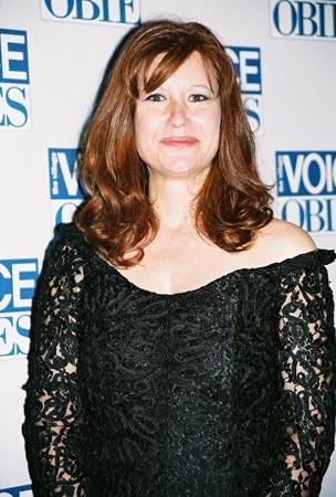 Karen Finley (Presenter) at 50th Annual Village Voice Obie Awards