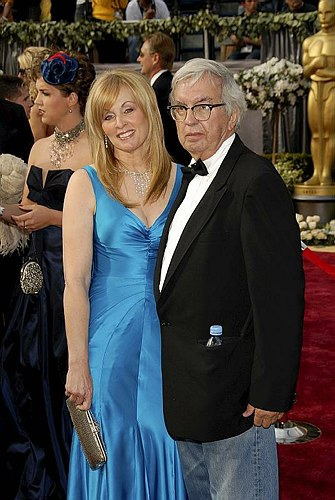 Diana Ossana and Larry McMurtry at 78th Annual Academy Awards