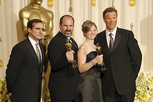 Steve Carell, Howard Bergeh, Tami Lane & Will Ferrell at 78th Annual Academy Awards