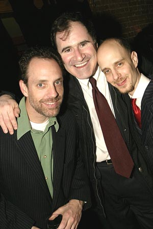 Jace Alexander, Richard Kind & Taro Alexander  at Our Time Theatre Company Benefit
