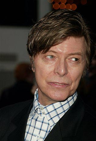 David Bowie  at The Pillowman Opening Night Red Carpet