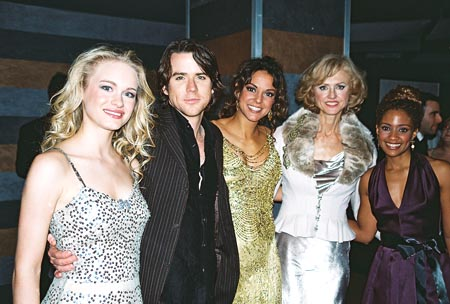 Leven Rambin, Christian Campbell, Eva LaRue, Jill Larson and Tanisha Lynn 