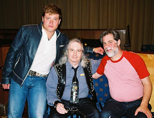 Rob Evan, Jim Steinman and Steve Margoshes at Over the Top: Songs by Jim Steinman