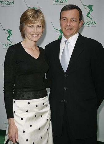 Bob Iger & Willow Bay at Opening Night at Tarzan