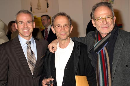 Jess Cagle, Joel Grey, and Ron Rifkin at The New York Times Arts & Leisure Weekend - Auction for the Arts at New York Times Arts & Leisure Weekend - Auction for the Arts