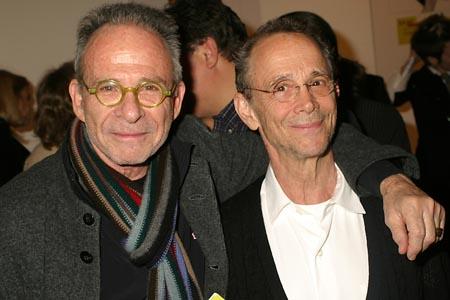 Joel Grey And Ron Rifkin At The New York Times Arts