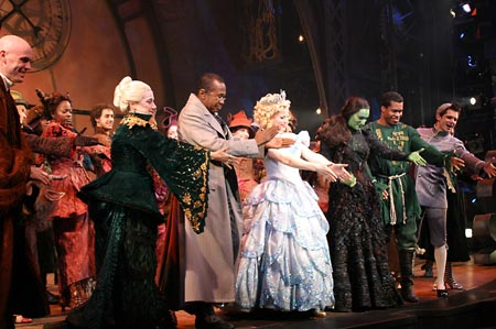 3 at Wicked Celebrates 1000th Performance