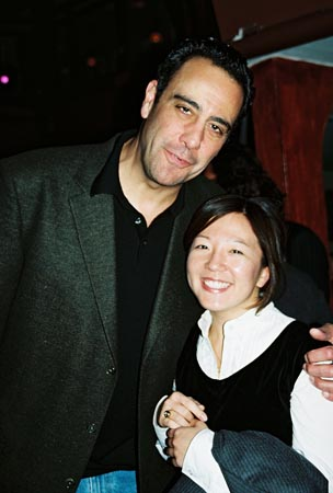 Brad Garrett and Esther Chang (William Morris Agency) at William Morris Celebrates the New Theatre Season