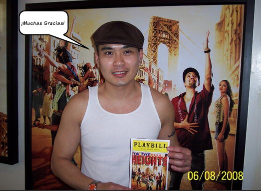 re: THE SEASON FINALE : Jaystarr's 10/10 Report on IN THE HEIGHTS (with sta