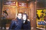 Bianca Marroquin and me at the Ambassador.