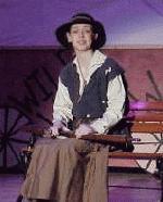 Me as Annie Oakley my senior year in AGYG