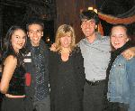 My life is now complete! The three of us surround none other than director Daisy Prince and composer/dynamo Jason Robert Brown after the show- 11/15/04