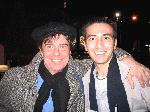 Broadway Matt with the amazing Gary Beach after his breathtaking 1st performance as Albin in LA CAGE AUX FOLLES- 11/11/04