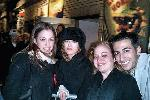 crowding around a very displeased Bernadette Peters, following a GYPSY matinee in December 2003