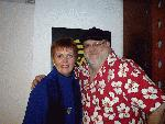 Maureen McGovern was a St. Patrick's Day visitor to Broadway Bill Schmalfeldt's live, nationally-broadcast