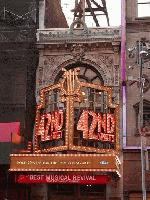 Ford Center for the Performing Arts, currently the home of 42nd Street the Musical.
