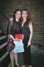 Me with Donna Murphy
