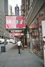 Me outside of Hairspray