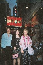 Me, Mom, and Grandma before Hairspray.