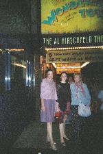 Mom, me, and Grandma outside of the Hirschfeld. (the person that took the pic said we were