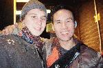 Me and Bd wong after a performance of pacific overtures