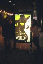 I have two more pics of me and gabby beeing stupid at wicked (and theres more of us on shubert alley)