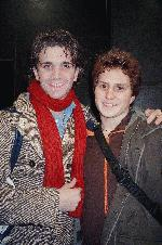 Charlie Sutton (graduated from my school in 2001 and is now on broadway)