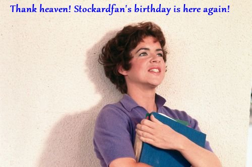 for Stockardfan's bday