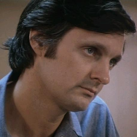 Alan Alda in The Glass House