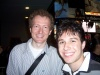 Me with Tony-nominee Bob Martin, Man in Chair, himself.
