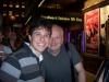 Me with Tony-winner Ian McDiarmid after Faith Healer.