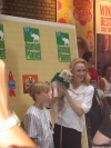 Jane Maxwell at broadway barks 2005