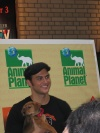 Cheyenne Jackson from All Shook Up at broadway Barks 2005