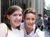 Me and Laura Benanti
