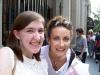 Me and Laura Benanti