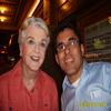 with the legendary Angela Lansbury following her perf in