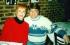 My all time favorite Carol Burnett and me at Joe Allen's when she did Putting it Together on Broadway