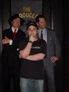 Me and the wax Nathan Lane and Matthew Broderick at Madame Tussaud's