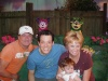 Me and my friend Kellie with our friend John Tartaglia when he did Johnny and the Sprites here at Disney MGM Studios