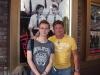 Samuel Barnett and me at History Boys