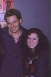 Cary Shields and Me after RENT