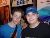 Me and Christian Borle