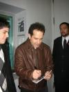 Tony Shaloub after The Scene