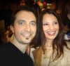 George Costacos and Fran Drescher at the