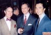 Steve Ross, Jim Caruso and George Costacos at the ASCAP Honors for Michael Feinstein