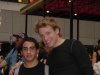 me with Barrett Foa at the Flea Market 2006